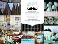 Cute baby shower themes for a little boy!