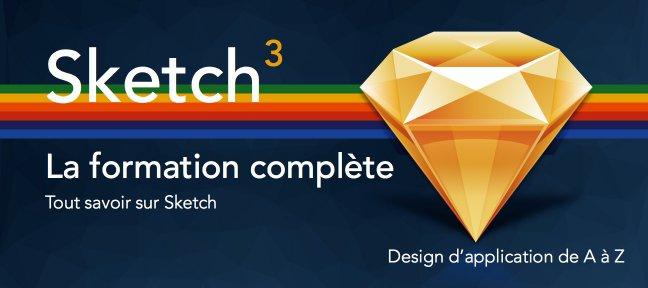 01 Tuto sketch - Formation UI / UX design sur Tuto.com