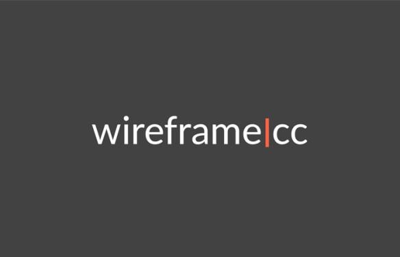 WierframeCC logiciel pour créer des prototypes