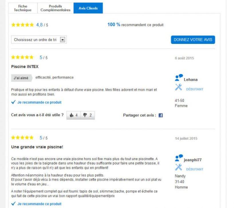 Avis client castorama - E-commerce : booster l'expérience utilisateurs #1