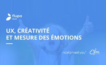 UX créativité et mesure des émotions