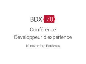 Conférence BDX le 10 novembre à Bordeaux