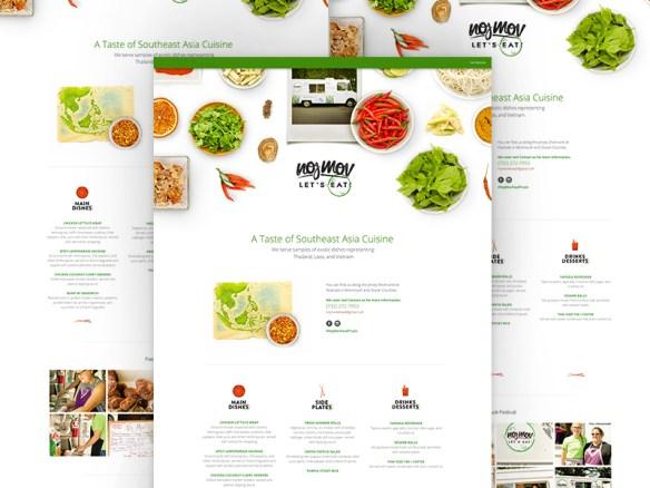 Présentation dynamique des aliements UI design