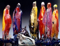 Murano Glass Furnaces Glass Nativity Scene - Prespio ...