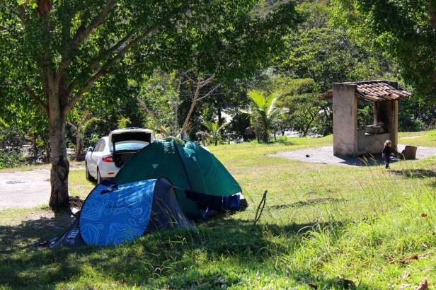 Área de Camping Salto Corumbá