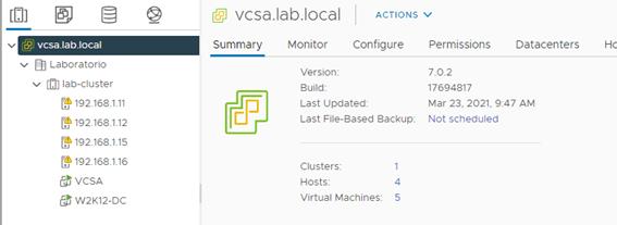 vcenter update 2