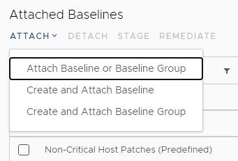 attach baseline