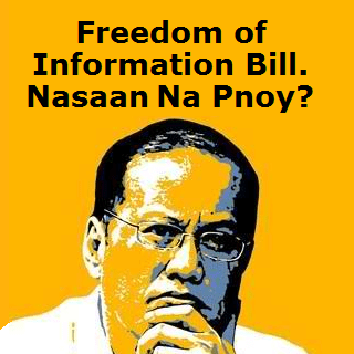 freedom of information bill philippines nasaan na Pnoy [the chair by rob san miguel]