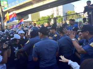 police power at EDSA