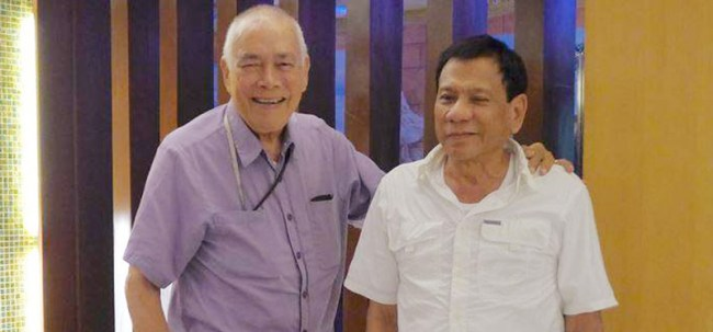 "The original ""promdi"" Lito Osmeña in May 2015 backed Rody Duterte to run for president a year ahead of the polls"