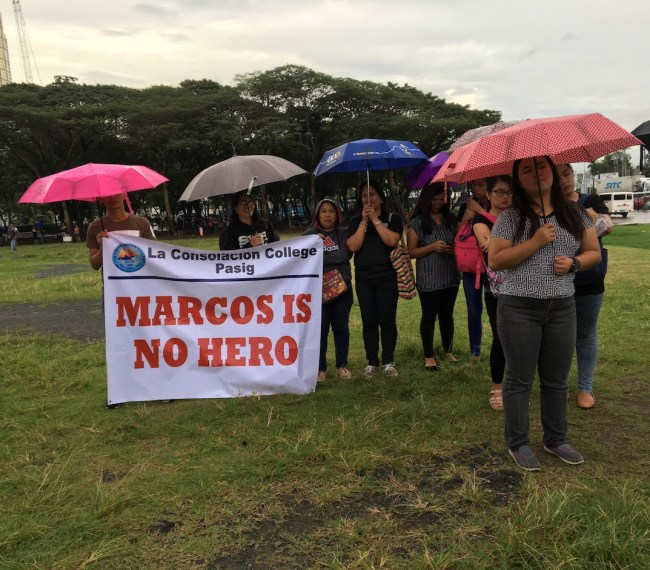 """Marcos is No Hero"""