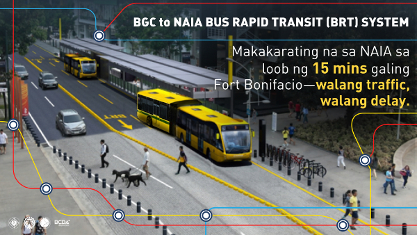 bgc naia bus rapid transit brt system