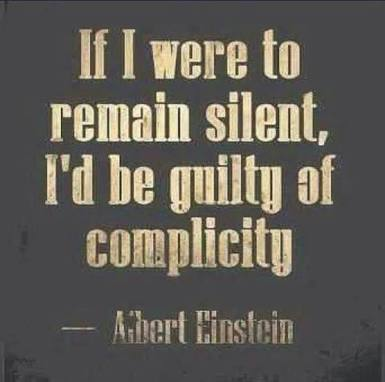 if i were to remain silent
