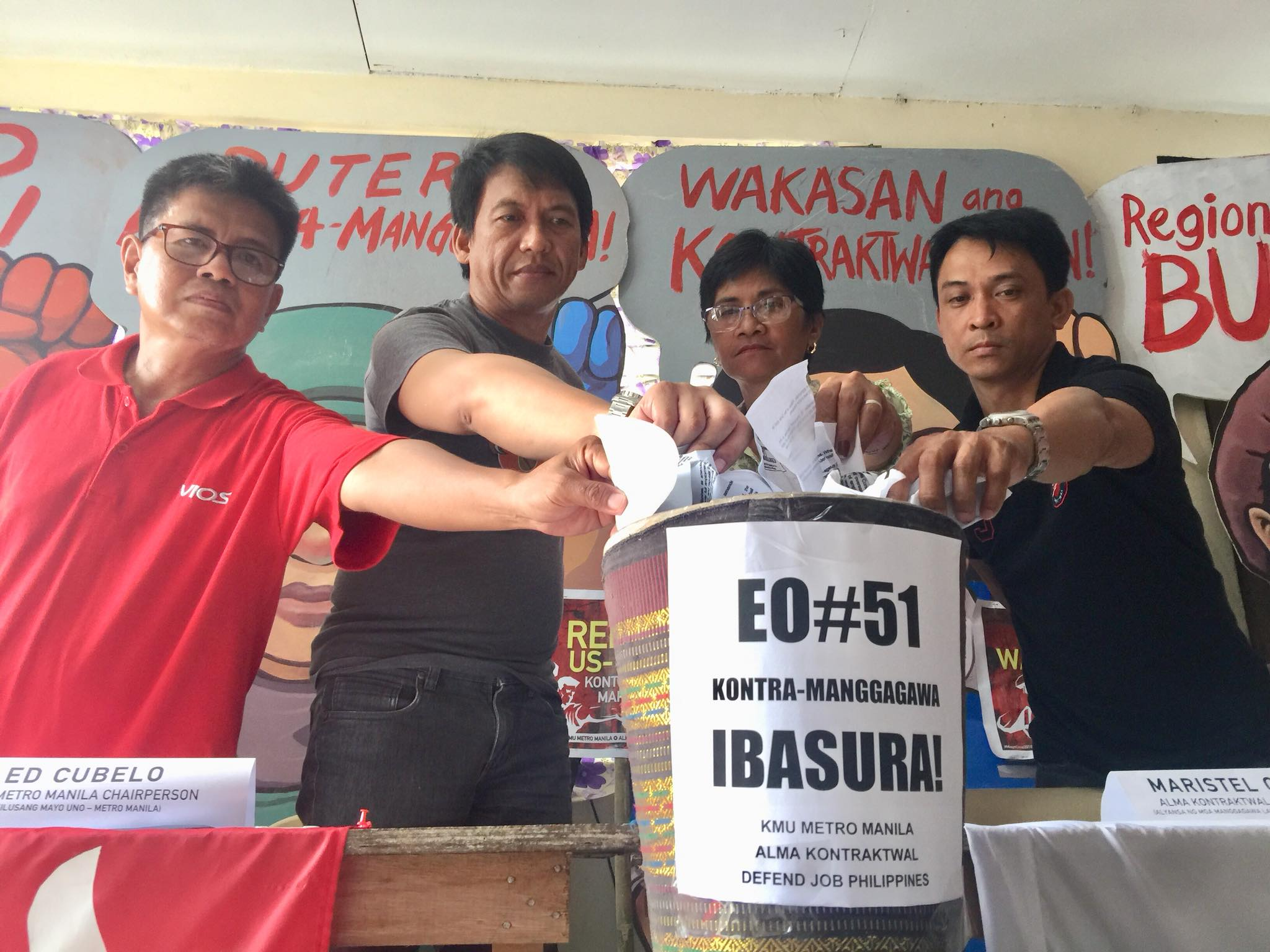 EO 51 contractualization