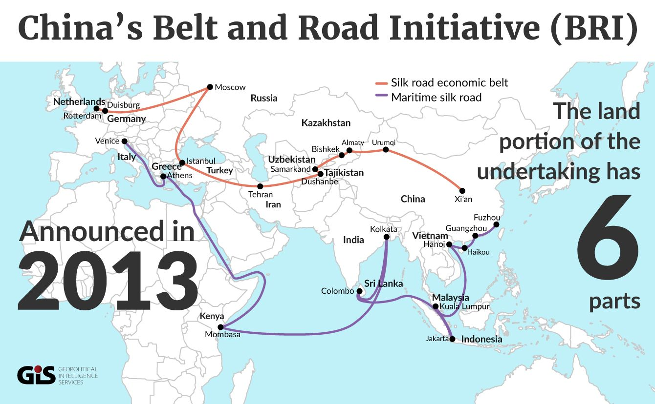 china belt road initiative BRI