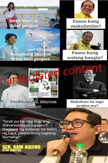 manipulated content copy