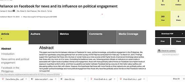 social media study