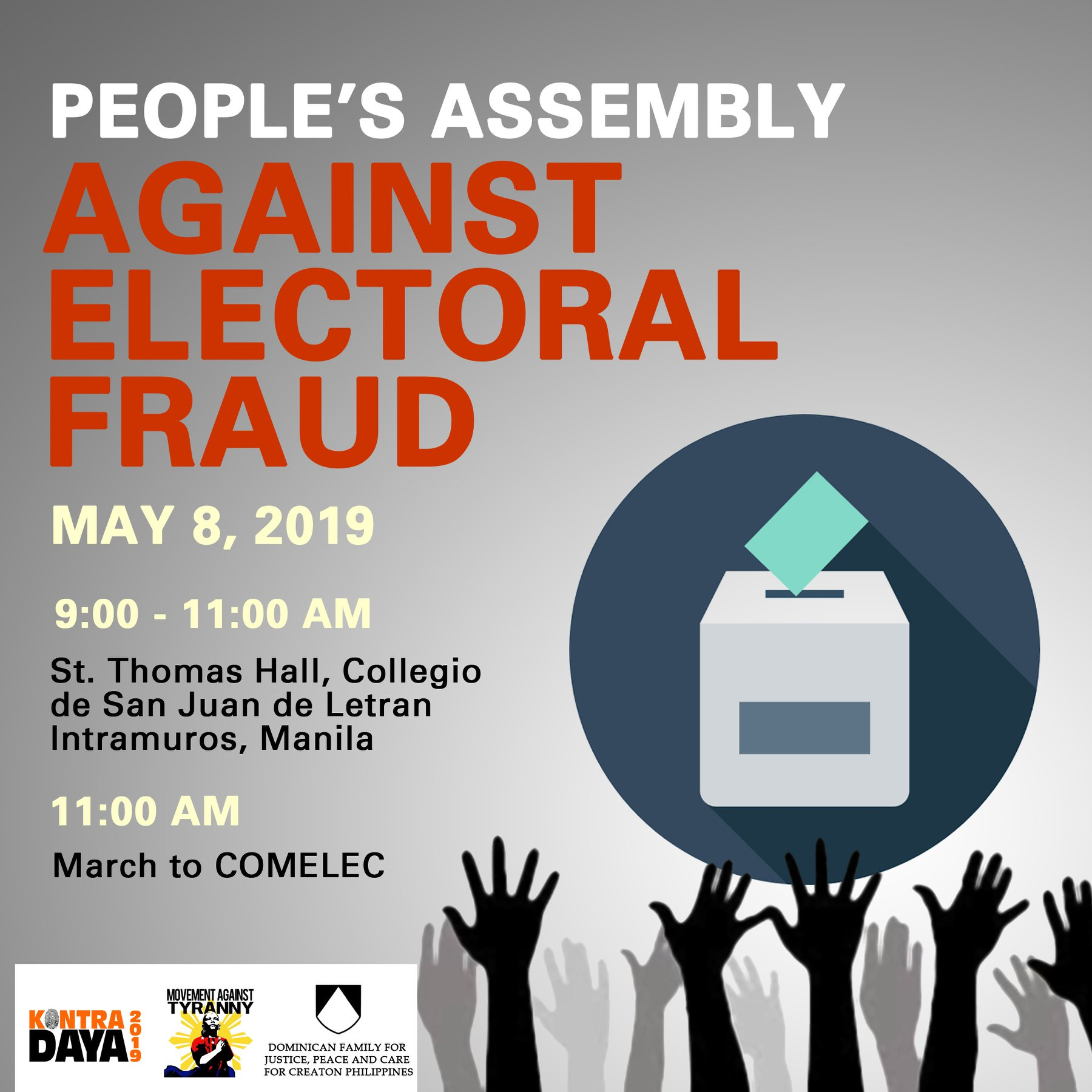 people's assembly vis election fraud
