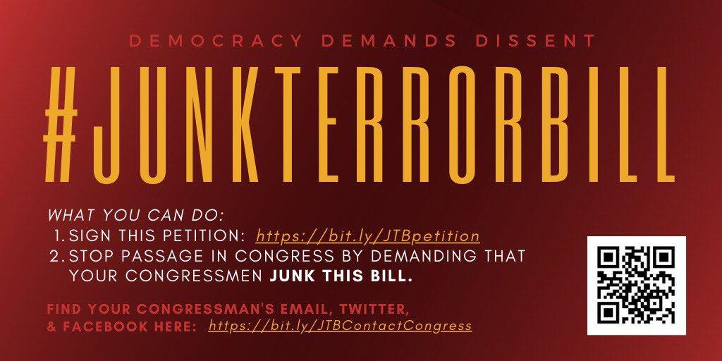 junk terror bill