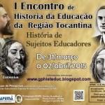 I Encontro de História da Educação da Região Tocantina