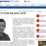 Entrevista ao jornal o Progresso, Edição 14520