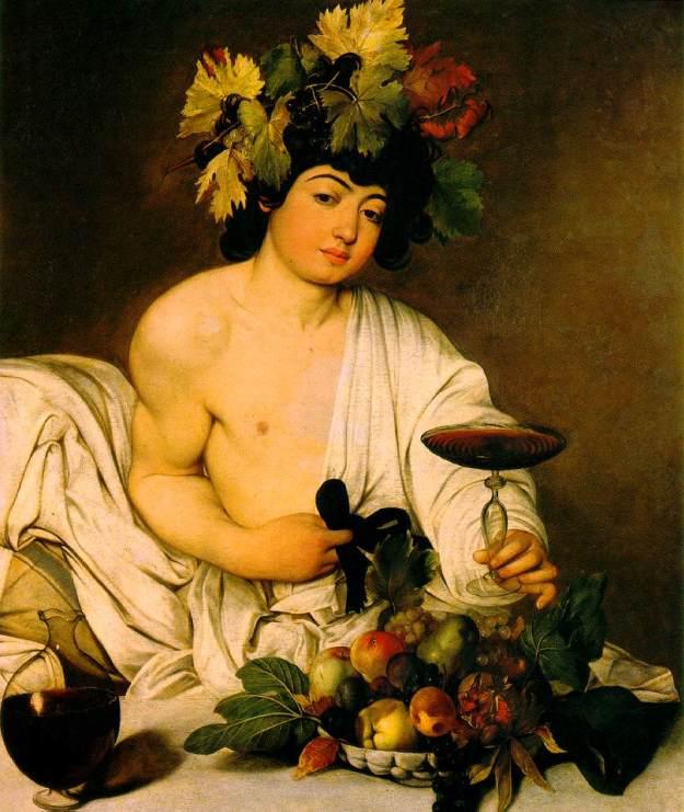 Caravaggio, 1597c, Bacchus