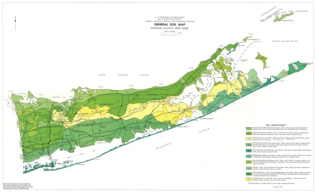 East End, General Soil Map