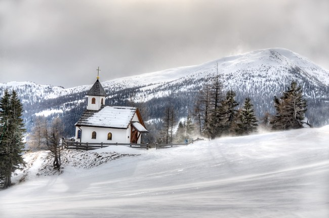 Church on the mountain top