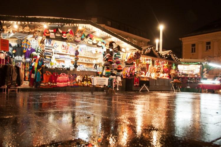 Kiosk at Christmas Market