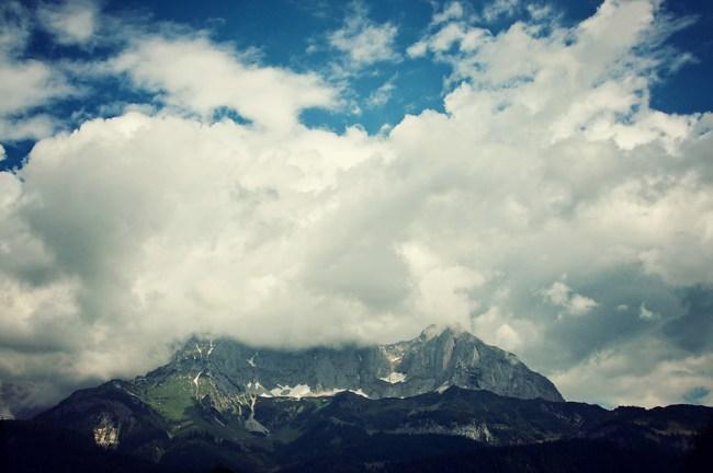 Imposing clouds
