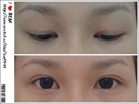 [分享] ★眼睛瞬間變大★雙眼皮貼法 - I ♥ BEAR - FashionGuide 華人時尚專業評鑑