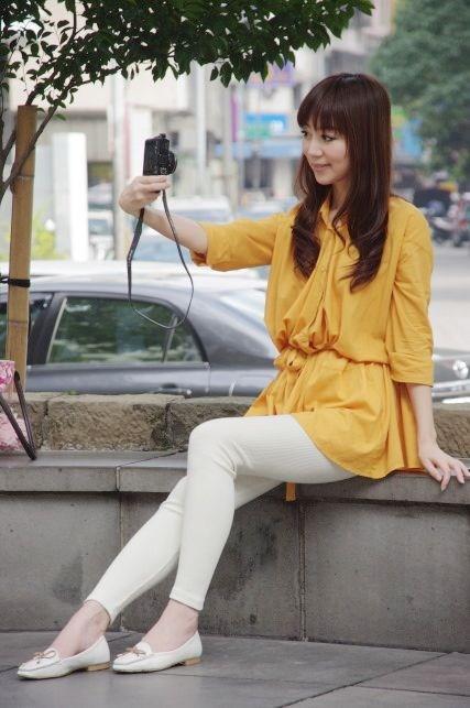 時尚打底褲♥Leggings內搭褲 的10種穿法♥ - 蘋果咬一口之... 愛愛LOVE 在FG - FashionGuide 華人時尚專業評鑑