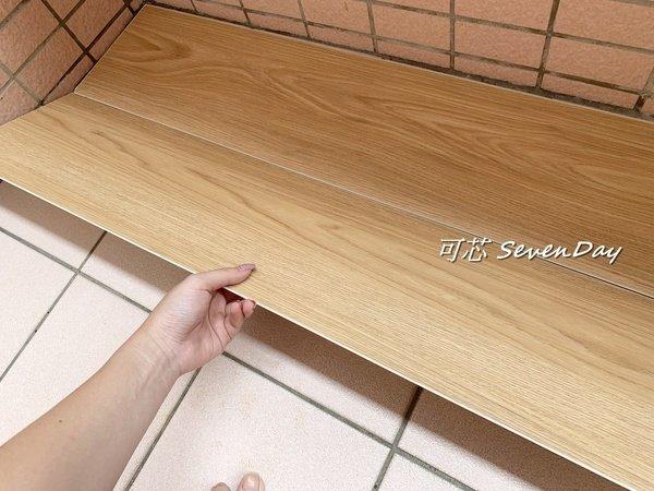 【教學 / 居家裝潢】簡單自己動手DIY『北歐風防水SPC仿實木卡扣地板』來營造出溫暖舒適的空間感。 @ 楊可芯 ...
