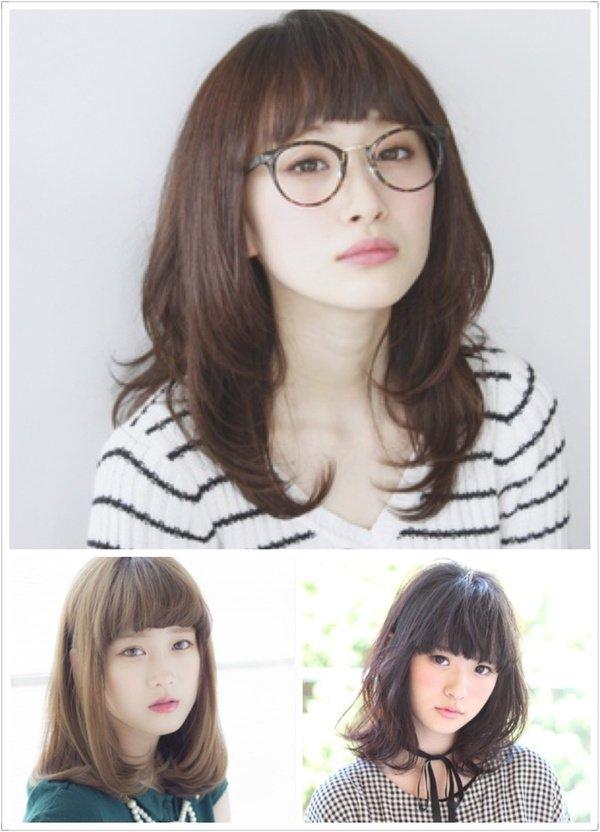 打造圓臉變小臉的--中長髮造型 - 髮型師JOE - FashionGuide 華人時尚專業評鑑