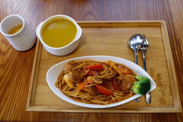 三重站餐廳-三重素食堂,捷運三重站咖啡廳,日式風格的機捷三重站素食餐廳,下午茶@心情音樂盒 PChome ...