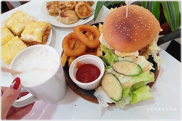 "35075a0f 05fa 481d 94df ba1f7568f6ad - 台中早餐║轉角遇到""Mary Breakfast Cafe"",不用百元套餐口味選擇多、份量不少還附飲料超平價~~"