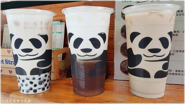 4ef73fef 214b 4c69 88a0 1a5c0c401cba - 三軒茶屋一中店║有panda出沒?!一中商圈手搖飲料,懶懶熊貓萌萌登場,超可愛熊貓杯帶著走,消暑又好喝
