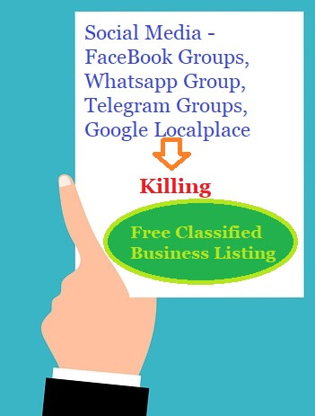 Impact of Social media in Classifieds and Business listing website