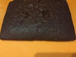 Wypieczone ciasto na Murzynka