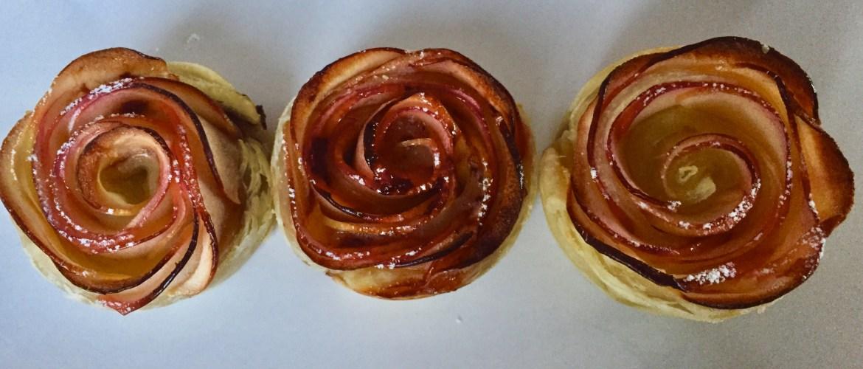 Przepyszne kwiatki z ciasta francuskiego