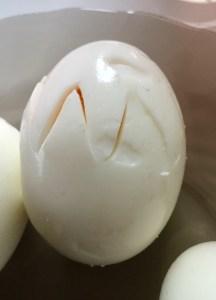 Jajka ugotowane na twardo