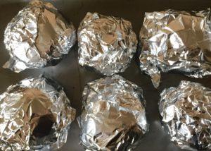 Buraczki w foli aluminiowej