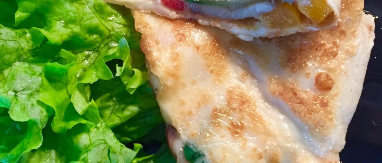 Naleśniki zapiekane z serem i warzywami