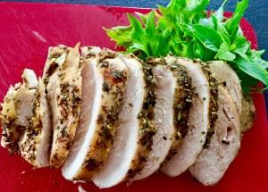 Filet z kurczaka pieczony w marynacie