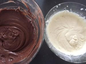 Ciasto na Zebrę z dodatkiem kakao