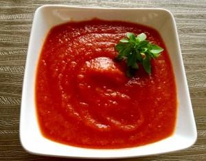 Gęsty sos o słodko kwaśnym smaku