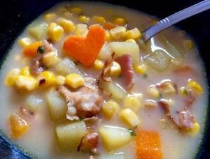 Sycąca zupa na szybki obiadek
