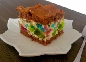 Ciasto z masą śmietankową