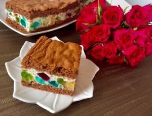 Ciasto mozaika na deser