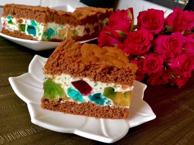Deserowe ciastka z galaretką